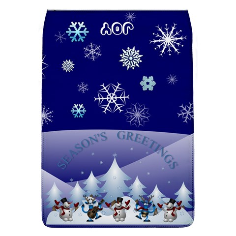 Season s Greetings Removable Flap Cover By Joy Johns   Removable Flap Cover (l)   87nzfuvkokf1   Www Artscow Com Front
