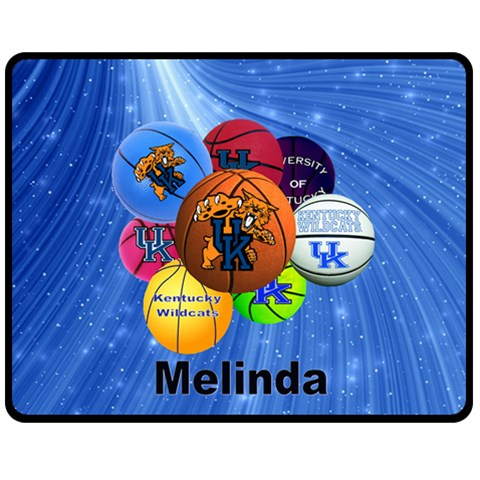 Melinda Uk Blanket By Karen   Fleece Blanket (medium)   C1zphy7l66lc   Www Artscow Com 60 x50 Blanket Front