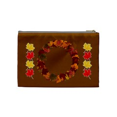Autumn Magic Medium Cosmetic Bag By Joy Johns   Cosmetic Bag (medium)   1bux3m5m0gxn   Www Artscow Com Back
