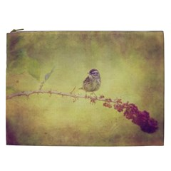 Little Bird Cosmetic Bag (xxl) by heathergreen