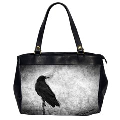 Crow Oversize Office Handbag (two Sides) by heathergreen