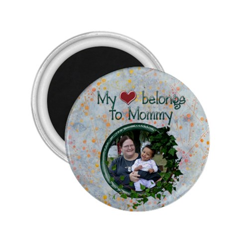 Heart Mommy Mag 2 25 By Angeye   2 25  Magnet   Kveuw5419ygh   Www Artscow Com Front