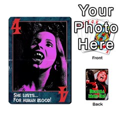Dracula Must Die!  By Mark Chaplin   Playing Cards 54 Designs   J8b03ha4ysp0   Www Artscow Com Front - Diamond3