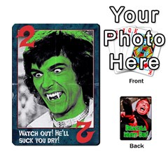 Queen Dracula Must Die!  By Mark Chaplin   Playing Cards 54 Designs   J8b03ha4ysp0   Www Artscow Com Front - DiamondQ