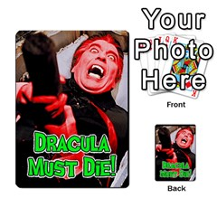 Dracula Must Die!  By Mark Chaplin   Playing Cards 54 Designs   J8b03ha4ysp0   Www Artscow Com Back