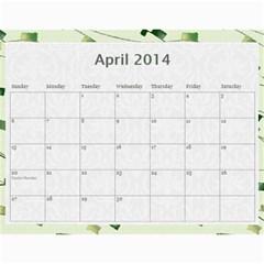 Erich Calendar By Sheri Mueller   Wall Calendar 11  X 8 5  (12 Months)   M7sej5yzo68n   Www Artscow Com Apr 2014