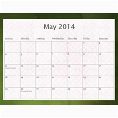 Erich Calendar By Sheri Mueller   Wall Calendar 11  X 8 5  (12 Months)   M7sej5yzo68n   Www Artscow Com May 2014