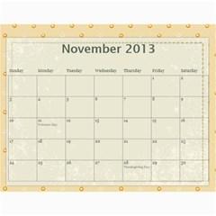 Erich Calendar By Sheri Mueller   Wall Calendar 11  X 8 5  (12 Months)   M7sej5yzo68n   Www Artscow Com Nov 2013