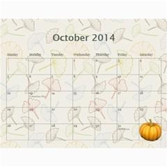 Erich Calendar By Sheri Mueller   Wall Calendar 11  X 8 5  (12 Months)   M7sej5yzo68n   Www Artscow Com Oct 2014