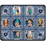 Fun Denim Medium Fleece Blanket - Fleece Blanket (Medium)