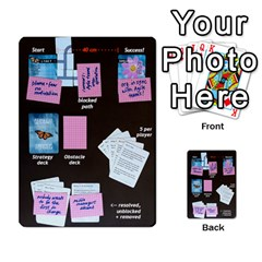 Fearless Journey Strategy Cards V1 1 Fr By Deborah   Multi Purpose Cards (rectangle)   1xwg7w2kkeqo   Www Artscow Com Back 50