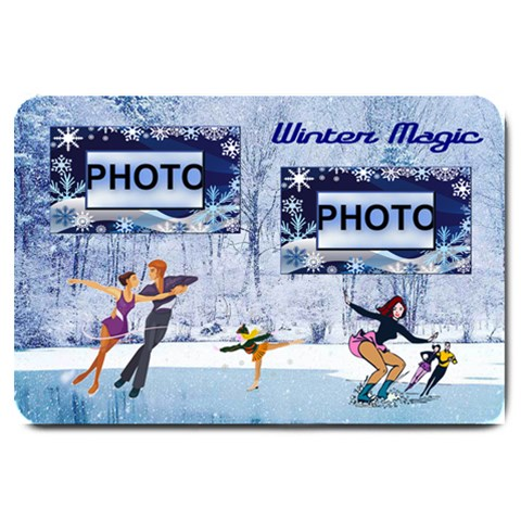 Winter Magic Door Mat By Joy Johns   Large Doormat   B92dgjiyb8lf   Www Artscow Com 30 x20 Door Mat - 1