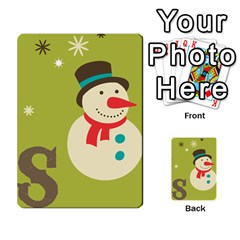 Christmas Card By Divad Brown   Multi Purpose Cards (rectangle)   Rr5qfa8uibzj   Www Artscow Com Front 8