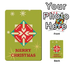 Christmas Card By Divad Brown   Multi Purpose Cards (rectangle)   Rr5qfa8uibzj   Www Artscow Com Back 9