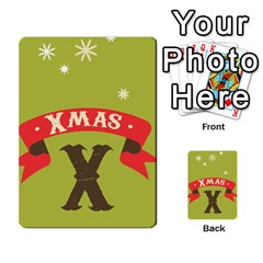 Christmas Card By Divad Brown   Multi Purpose Cards (rectangle)   Rr5qfa8uibzj   Www Artscow Com Front 28