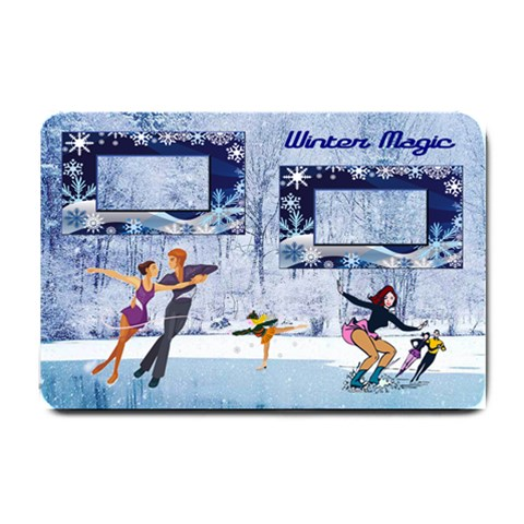 Winter Magic Small Door Mat By Joy Johns   Small Doormat   Bm6xohjrvpaz   Www Artscow Com 24 x16 Door Mat - 1