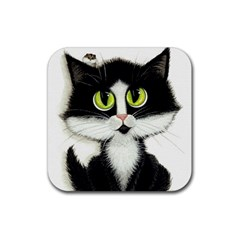 Curiouskitties414 Drink Coasters 4 Pack (square) by AmyLynBihrle