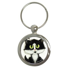 Curiouskitties414 Key Chain (round) by AmyLynBihrle