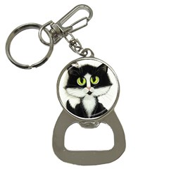 Curiouskitties414 Bottle Opener Key Chain by AmyLynBihrle