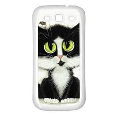 Curiouskitties414 Samsung Galaxy S3 Back Case (white) by AmyLynBihrle