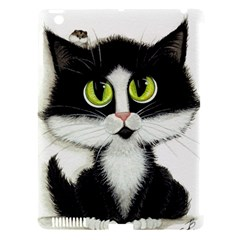 Tuxedo Cat By Bihrle Apple Ipad 3/4 Hardshell Case (compatible With Smart Cover) by AmyLynBihrle