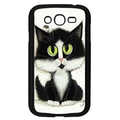 Tuxedo Cat By Bihrle Samsung I9082(galaxy Grand Duos)(black) by AmyLynBihrle