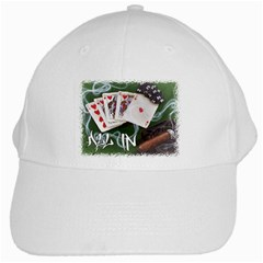 Poker All In White Cap by 303792