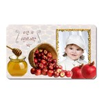 YL oblong fridge magnet shono tova - Magnet (Rectangular)