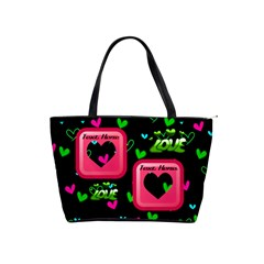 Love Shoulder Handbag By Joy Johns   Classic Shoulder Handbag   675mwu1ywhns   Www Artscow Com Front