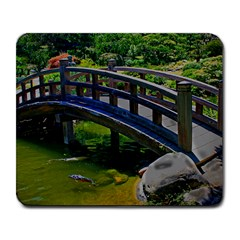 Japanese Bridge Large Mouse Pad (rectangle) by designsbyvee