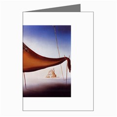 Salvador Dali - Le Sommeil - Sleep Greeting Card by DesignMonaco