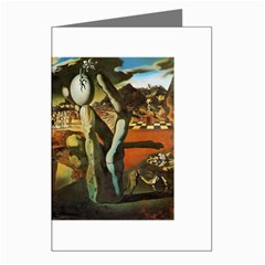 Salvador Dali - Metamorphosis of Narcissus Greeting Card by DesignMonaco