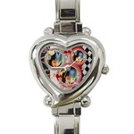 PASSION LOVE - Heart Italian Charm Watch