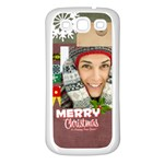 xmas - Samsung Galaxy S3 Back Case (White)
