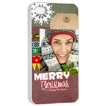 xmas - Apple iPhone 4/4s Seamless Case (White)