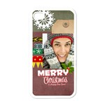 xmas - Apple iPhone 4 Case (White)