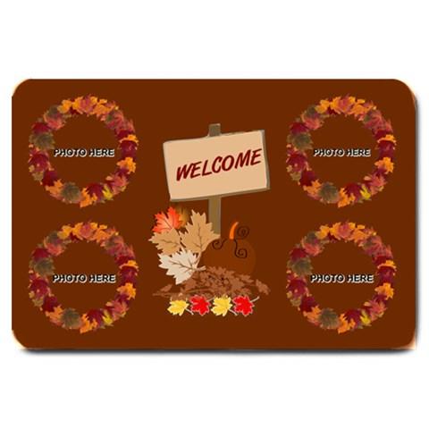 Autumn Greetings Large Doormat 2 By Joy Johns   Large Doormat   U6xfsi34s7hh   Www Artscow Com 30 x20  Door Mat
