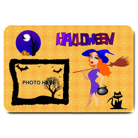 Halloween Large Doormat #2 By Joy Johns   Large Doormat   Fcqzvj1i5xg0   Www Artscow Com 30 x20  Door Mat