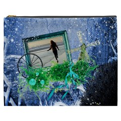 Midnight Wish   Cosmetic Bag (xxxl)  By Picklestar Scraps   Cosmetic Bag (xxxl)   U8fllbh59t9c   Www Artscow Com Front