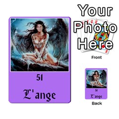 Brigitte By Karine   Multi Purpose Cards (rectangle)   Fl9vxt9xuicx   Www Artscow Com Back 31