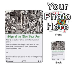 Robin Hood Cards (outlaw And King Decks) By Mark Johnson   Multi Purpose Cards (rectangle)   35mxy14yyzc4   Www Artscow Com Front 8