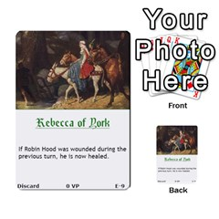 Robin Hood Cards (outlaw And King Decks) By Mark Johnson   Multi Purpose Cards (rectangle)   35mxy14yyzc4   Www Artscow Com Front 9