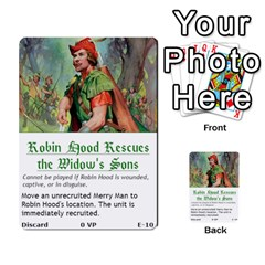Robin Hood Cards (outlaw And King Decks) By Mark Johnson   Multi Purpose Cards (rectangle)   35mxy14yyzc4   Www Artscow Com Front 10