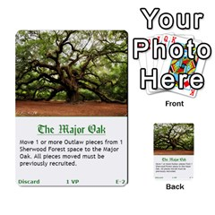 Robin Hood Cards (outlaw And King Decks) By Mark Johnson   Multi Purpose Cards (rectangle)   35mxy14yyzc4   Www Artscow Com Front 2