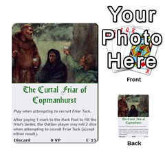 Robin Hood Cards (outlaw And King Decks) By Mark Johnson   Multi Purpose Cards (rectangle)   35mxy14yyzc4   Www Artscow Com Front 15