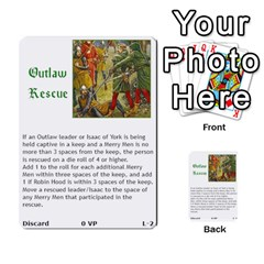 Robin Hood Cards (outlaw And King Decks) By Mark Johnson   Multi Purpose Cards (rectangle)   35mxy14yyzc4   Www Artscow Com Front 19