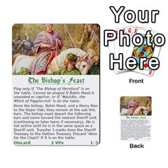 Robin Hood Cards (outlaw And King Decks) By Mark Johnson   Multi Purpose Cards (rectangle)   35mxy14yyzc4   Www Artscow Com Front 20