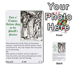 Robin Hood Cards (outlaw And King Decks) By Mark Johnson   Multi Purpose Cards (rectangle)   35mxy14yyzc4   Www Artscow Com Front 24