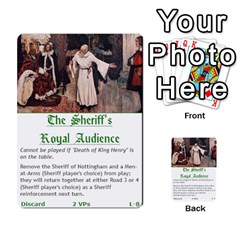 Robin Hood Cards (outlaw And King Decks) By Mark Johnson   Multi Purpose Cards (rectangle)   35mxy14yyzc4   Www Artscow Com Front 25