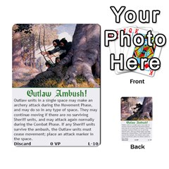 Robin Hood Cards (outlaw And King Decks) By Mark Johnson   Multi Purpose Cards (rectangle)   35mxy14yyzc4   Www Artscow Com Front 27